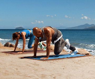 Workout mit Detlef Soost und Jana Ina Zarrella: Mountain-Climbers