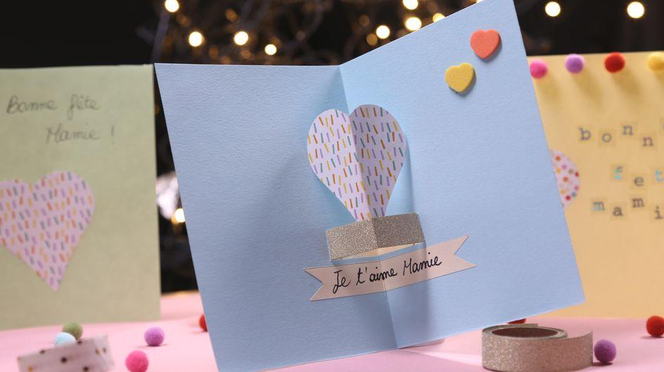 DIY : Une carte pop-up pour Mamie (vidéo)