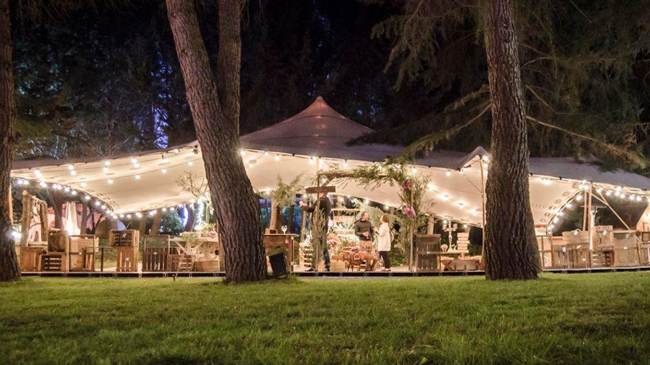 Una boda con carpa: ideas y soluciones creativas