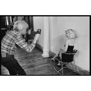 Andy Warhol y Debbie Harry