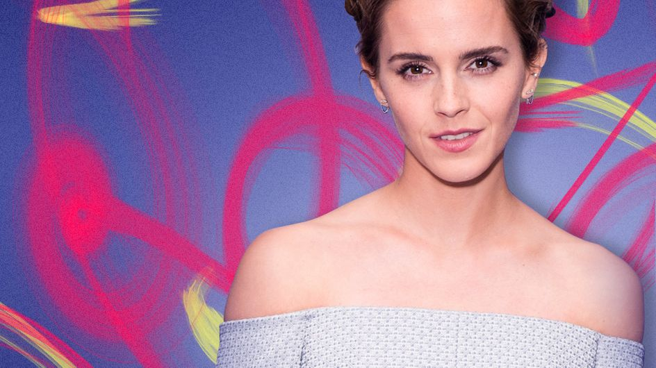 Emma Watson s'inspire de Cendrillon pour l'avant-première de La Belle et la Bête (Photos)