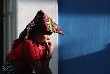 Une femme guatémaltèque