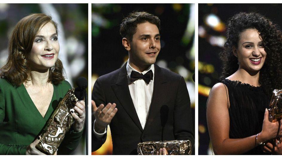 Isabelle Huppert, Xavier Dolan, Divines... Retour sur le palmarès des César 2017 (Photos)