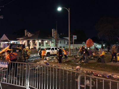 Nouvelle-Orléans : Un chauffard fonce sur les piétons lors de la parade de Mardi Gras