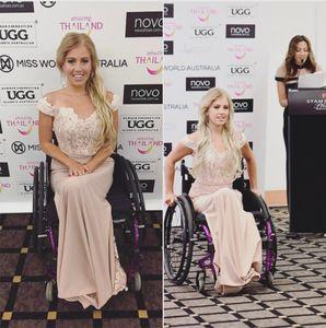 Justine Clarke, première participante handicapée à Miss Monde