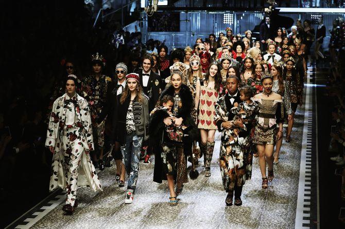 Le défilé Dolce & Gabbana automne/hiver 2017-2018