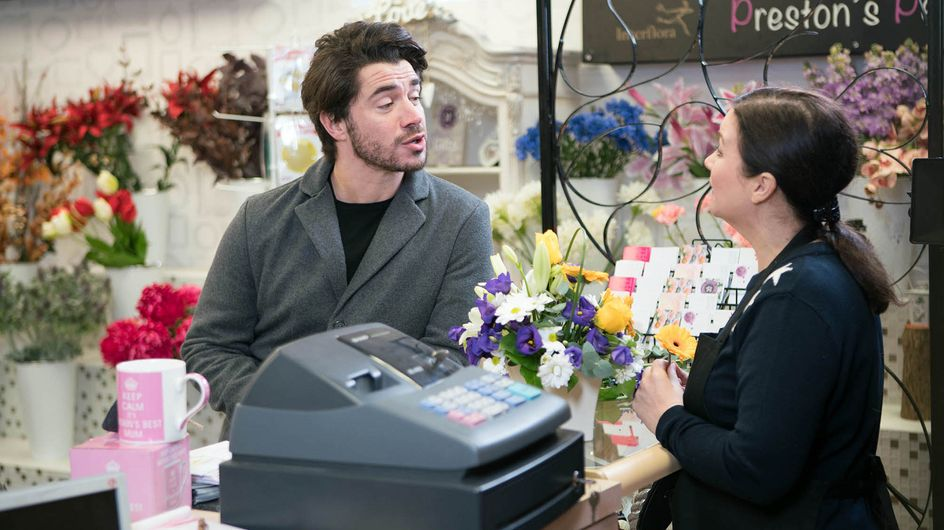 Coronation Street 06/03 - Amy Gets In The Way Of Adam's Plan