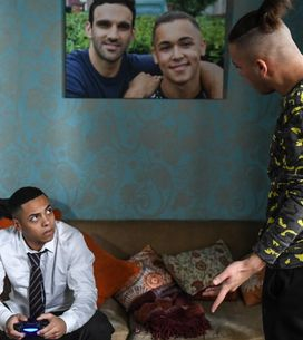 Eastenders 09/03 - Shakil Grows Sick Of Keegan