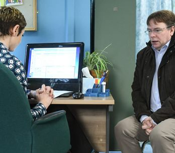 Eastenders 10/03 - Ian Attends His Medical Appointment