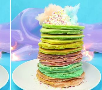 Unicorn Pancakes Are A Thing Now Because Of Course They Are