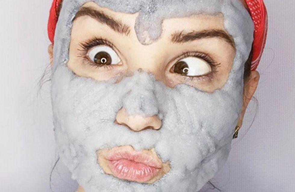This Bubble Clay Mask Was Made For Your Face And Your Instagram