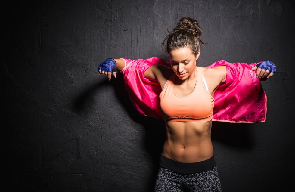 routine di allenamento addominali brucia grassi