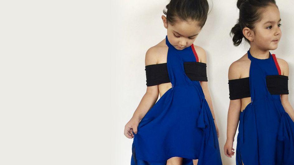 Lookée comme des personnalités fortes et inspirantes, cette petite fille nous fait craquer (Photos)