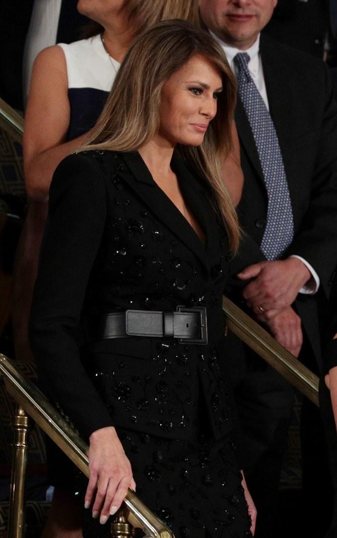 Melania Trump en Michael Kors