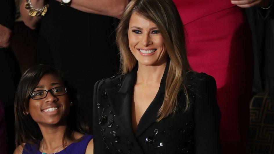 Melania Trump, un look qui ne laisse pas indifférent (Photos)