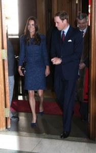 Kate et le Prince William à la réception du Scott Amundsen Centenary Race