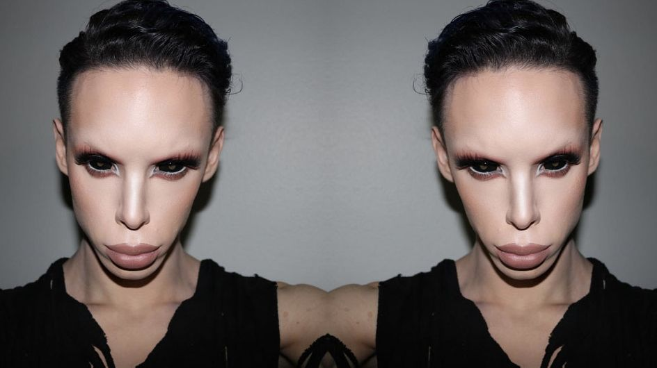 Meet The Man Who's Splashed Out £50k To Become A Genderless Alien