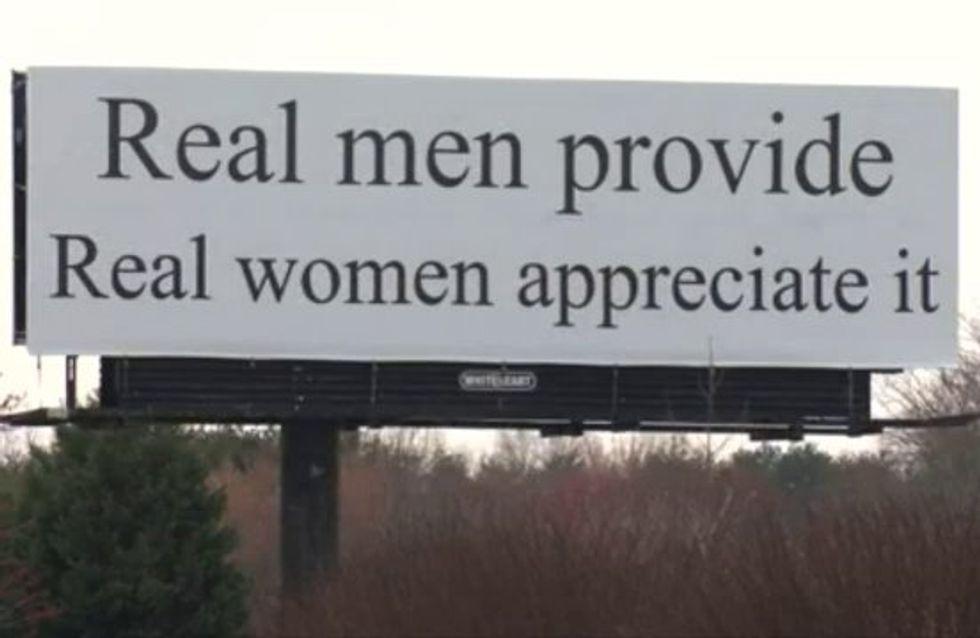 Ce panneau publicitaire sexiste déclenche une vive polémique