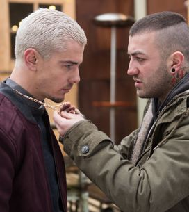 Hollyoaks 13/03 - Joel Warns Bart To Leave Hollyoaks