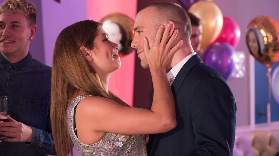Hollyoaks 15/03 - It's Adam And Maxine's Engagement Party