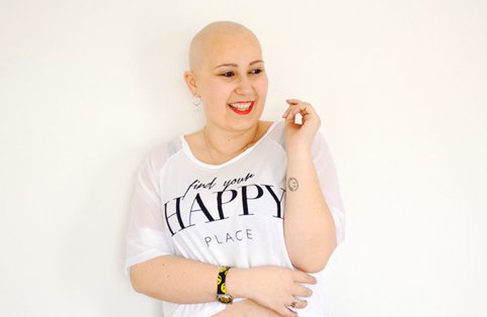 """Así afronta esta joven su sexto tumor: """"hay cosas más importantes que el pelo"""""""