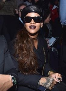 Rihanna au défilé Christian Dior