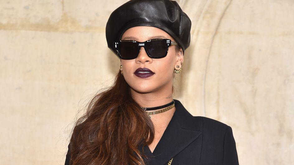 Rihanna, égérie féministe et engagée pour assister au défilé Dior (Photos)