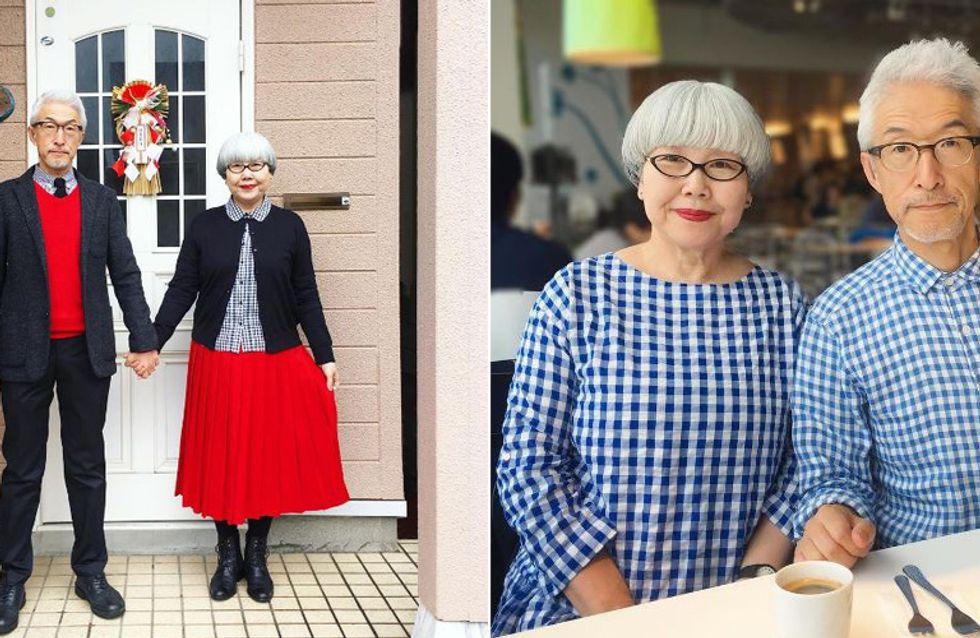 37 Jahre Ehe stehen ihnen gut: So süß stimmt dieses Paar jeden Tag seine Outfits ab