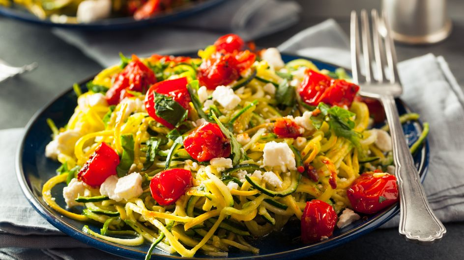 4 recetas con noodles de verduras que te encantarán