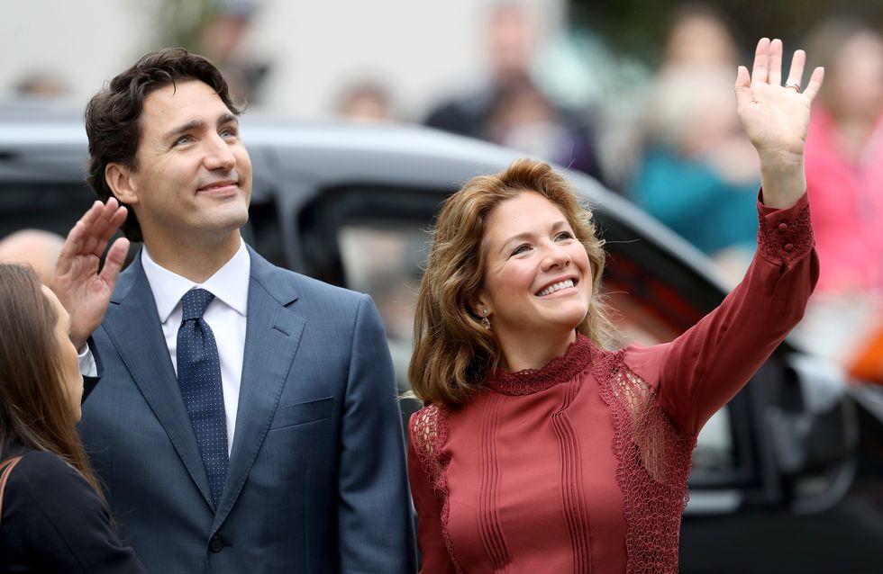 Pour le 8 mars, l'épouse de Justin Trudeau propose de célébrer ... les hommes ! (Photos)