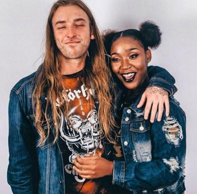Curt et sa petite amie