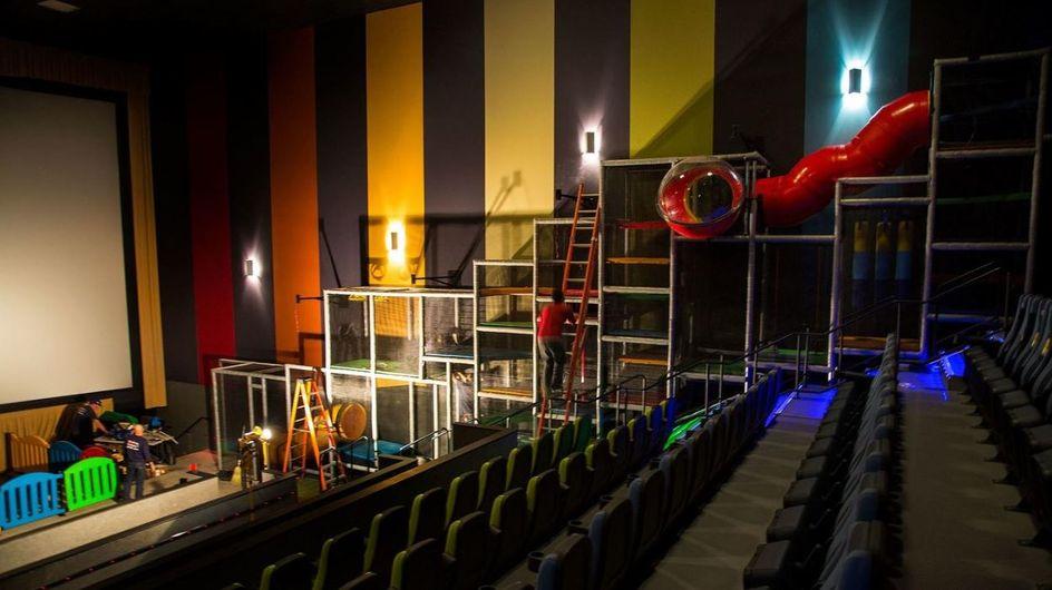 Spielparadies trifft auf Kinosaal: Sehen SO ab sofort Kinos für Eltern und Kinder aus?