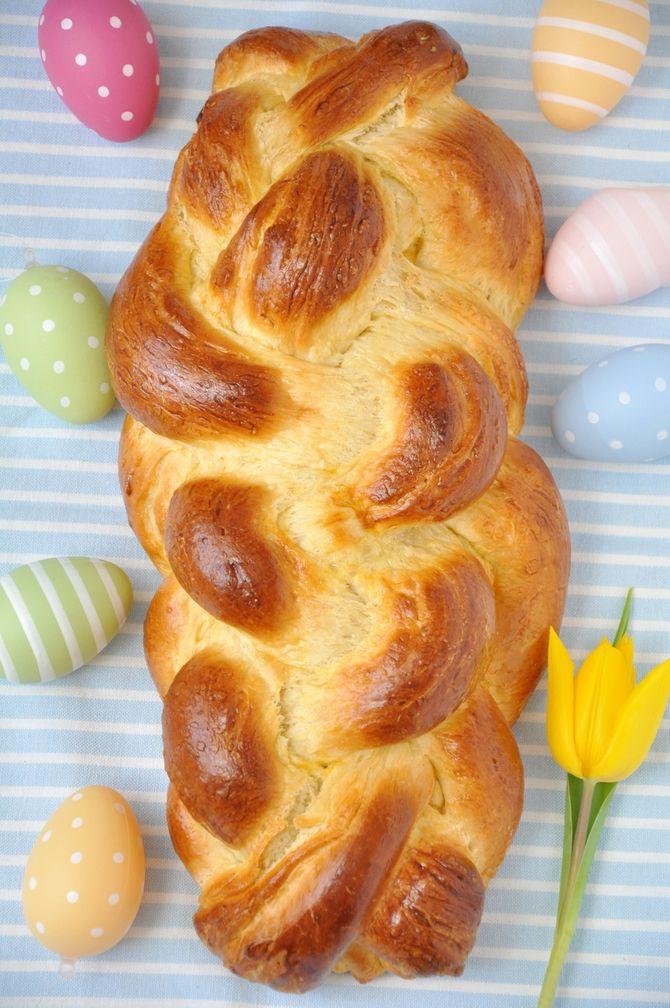 Süßes zum Osterbrunch: Hefezopf