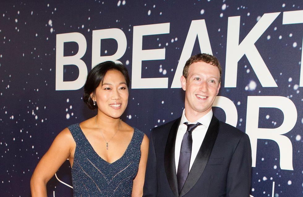 Le magnifique message féministe de Mark Zuckerberg pour sa femme enceinte (Photos)