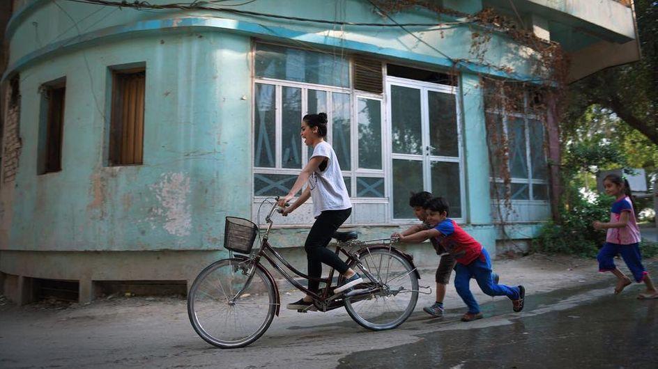 En Irak las bicicletas son para desafiar el machismo
