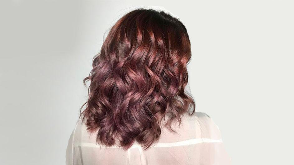 Colori di capelli 2017: il castano malva è la tendenza cult dell'inverno per le more!