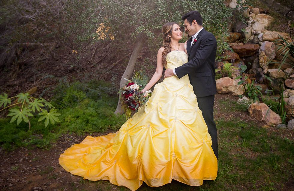 This Beauty & The Beast Wedding Shoot Is What Disney Dreams Are Made Of