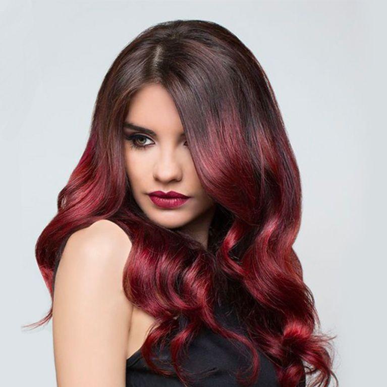 Cherry bombre  il colore di capelli perfetto per le amanti del rosso! 6d9dbbfcbf61