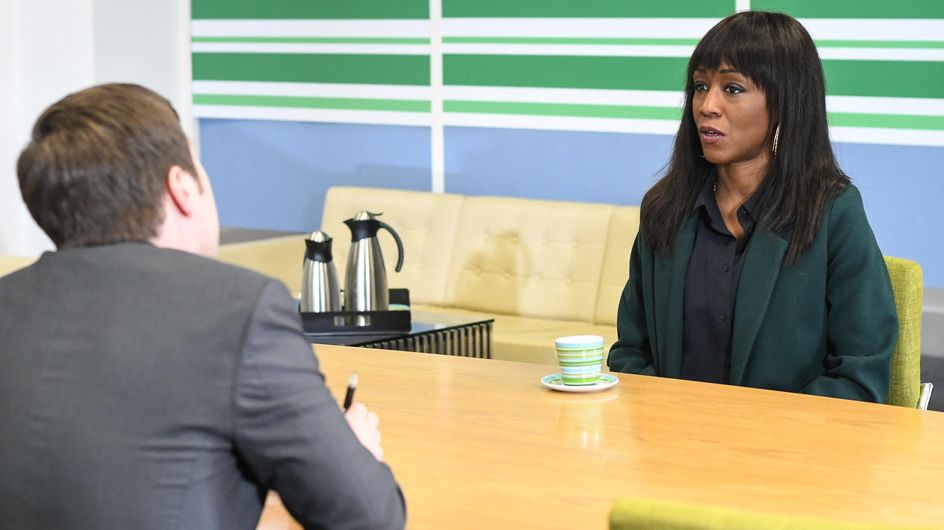 Eastenders 20/03 - Denise Is Worried About Her Minute Mart Meeting