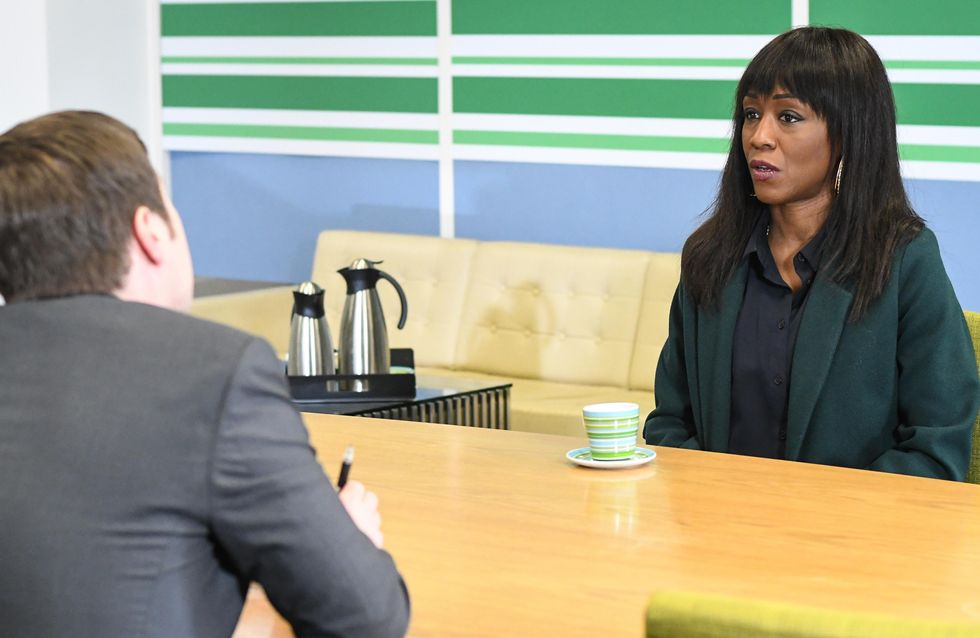 Eastenders 20/03 - Denise Is Worried About Her Minute Mart Meeting