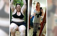 Sie hat 90 Kilogramm abgenommen - und zeigt nun die krassen Folgen ihres Gewicht