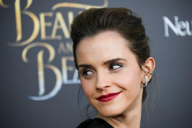 Emma Watson en el estreno de La Bella y la Bestia Nueva York