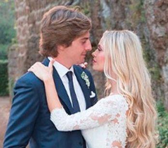 Martina Stella, bellissima sposa di Andrea: ecco gli abiti scelti per le nozze e