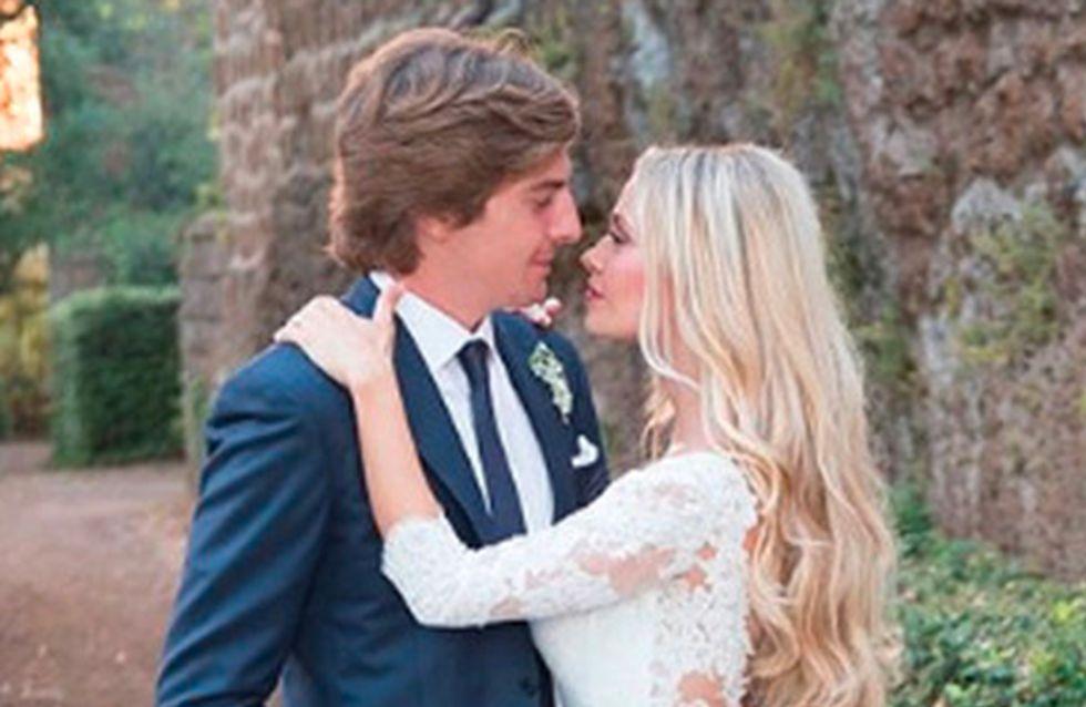 Martina Stella, bellissima sposa di Andrea: ecco gli abiti scelti per le nozze e il ricevimento!