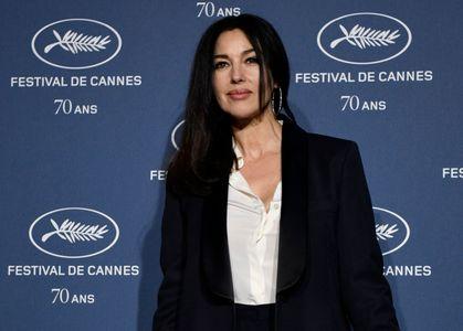 Monica Bellucci sur le photocall du Festival de Cannes