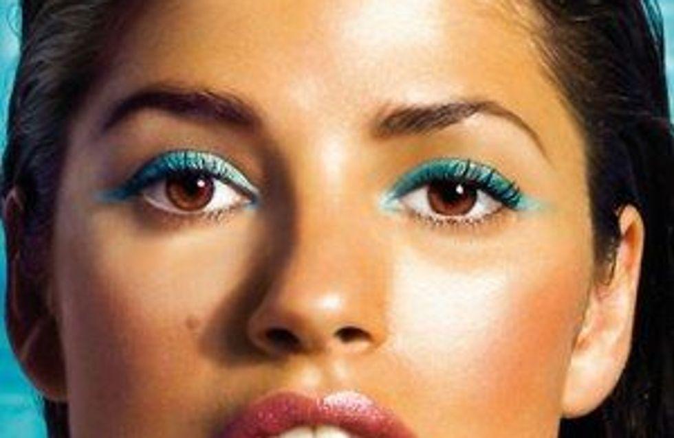 Cette saison, on craque pour l'eye-liner coloré !