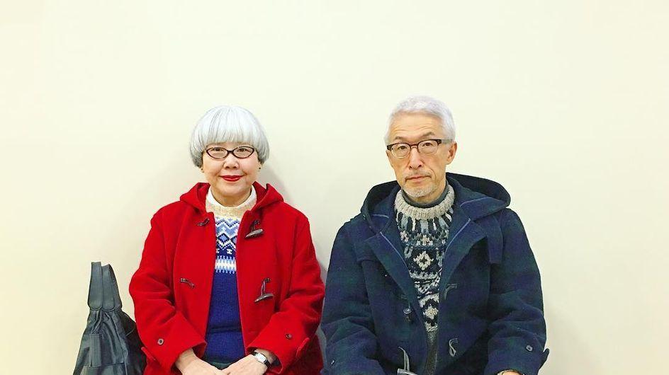 La pareja de abuelitos conjuntados que ha enamorado a Instagram