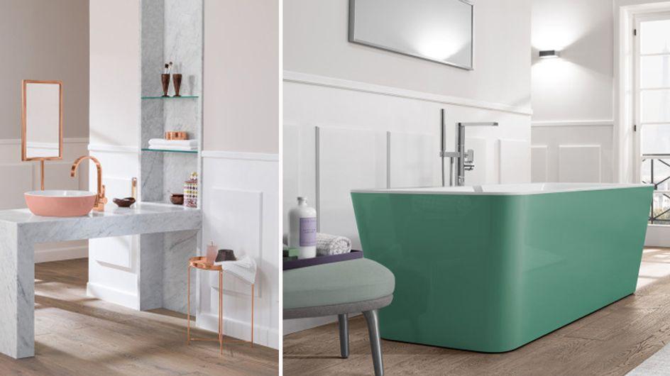 Mut zur Farbe: Bunte Badezimmer sind DER Wohntrend 2017!