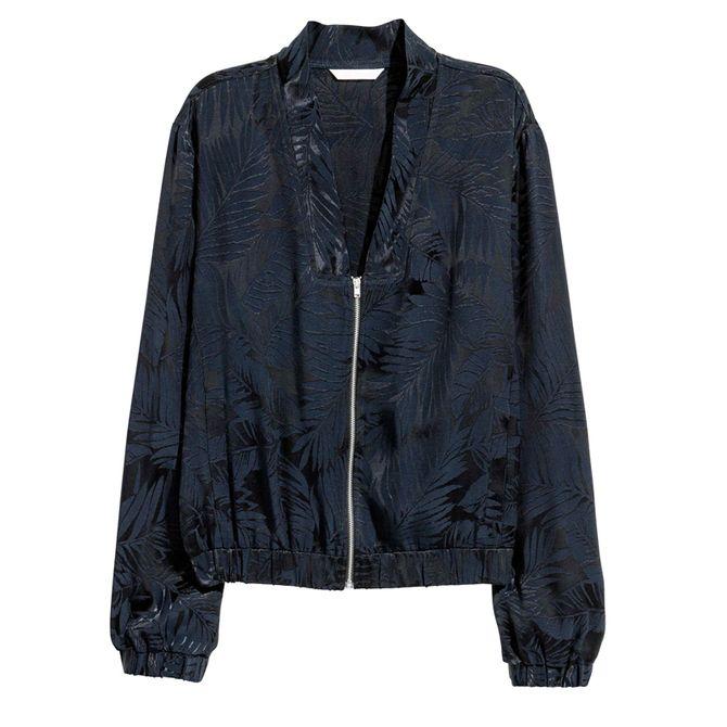 Blouson en tissu jacquard, H&M, 49,99€