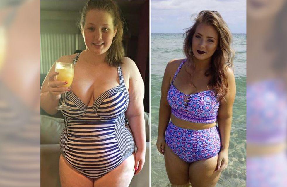 Zu anstößig?! Sie nahm über 50 Kilo ab - doch Instagram löscht ihre Bikini-Bilder